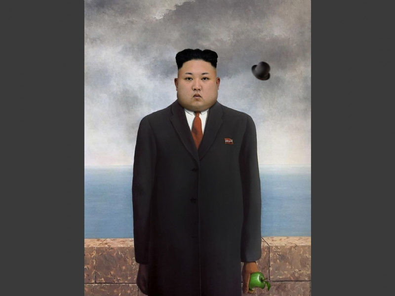 Kim Jong (Un As The Son Of Man)